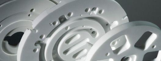 VITRON Fräßteile für Lithographie Anlagenbau
